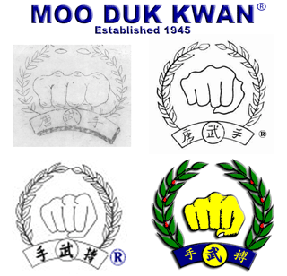 Moo Duk Kwan Fist Logo