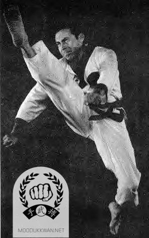 Dale Drouillard, first American to receive a Dan Bon in the Moo Duk Kwan.