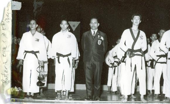 beginning ceremony 1968 5th asian phillippine team and korea team