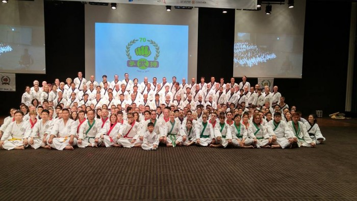 70th group photo korea 2015